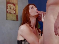 Beautiful milf redhead cici rhodes sucks cock tubes