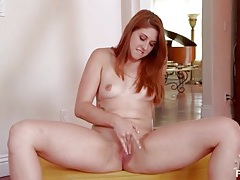 Big ass redhead rose red does a sexy dance tubes