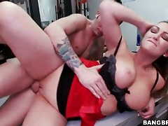 Office sex with a voluptuous blonde girl tubes