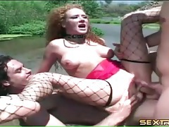 Collared redhead audrey hollander dp outdoors tubes