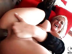 Rough throat and ass fucking of slutty milf tubes