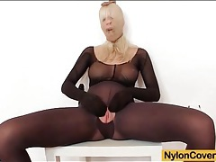 Solo pantyhose fetish porn with big tits blonde tubes