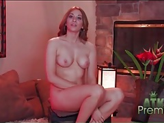Chatty chick gets naked and talks to you tubes