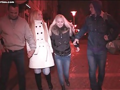 Group date night ends in teen oral sex tubes