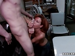 Redhead veronica avluv pounded by big cock tubes