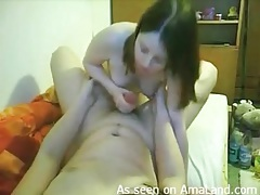 Teen girlfriend jerks off her boyfriend lustily tubes