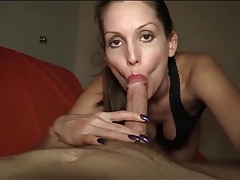 An erotic lipstick blowjob from lelu love tubes