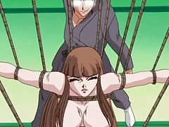 Tied up hentai girl whipped brutally tubes