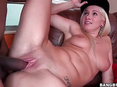 Blonde learns the wonders of bbc sex tubes