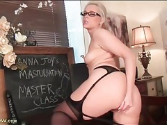 Learn masturbation techniques from hot blonde anna joy tubes
