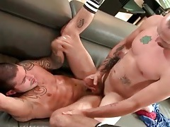 He likes to bury his cock balls deep in a tight ass tubes