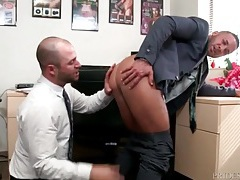 Hot gay rimjob for his sexy coworker tubes