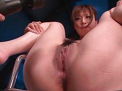 Vibrator play drives this japanese girl wild with lust tubes