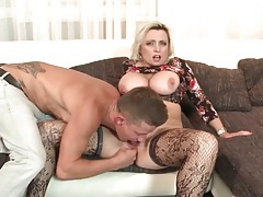 Milf cunt is soaked as he fingers her deeply tubes