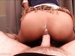 Bent over ladyboy ass fucked from behind tubes
