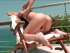 Finger fucking by the ocean with a blonde hottie tubes