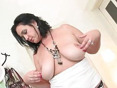 Her sexy mommy boobs are big and all natural tubes