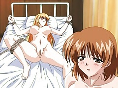 Sexual experimentation of a bound hentai babe tubes