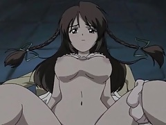 Innocent hentai beauty on her back for fucking tubes