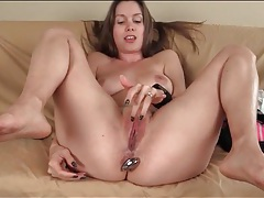 Lusty masturbation talk with lelu love tubes