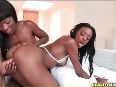 Black girls balled from behind by big white dick tubes