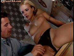 Sexy blonde offers her body for his pleasure tubes