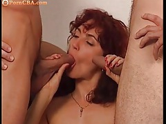 Each sexy slut gets fucked by two guys tubes