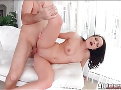 Giving her bald pussy the hot sex it craves tubes