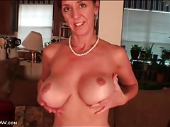 Big round boobs make karen jones a sexy treat tubes