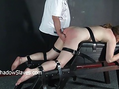 Hellpain whipping and feet spanking of punished amateur slave janna tubes
