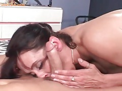 Titjob turns his cock rock hard for a lusty ride tubes