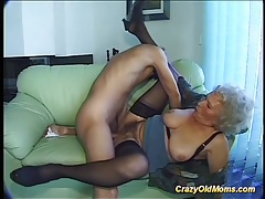 Busty hairy mom deepthroat on big dick tubes