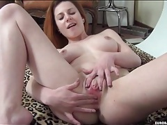 Tight body chick strips and sucks his dick tubes