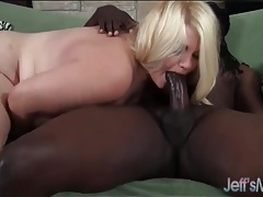 Pretty blonde fat girl fucked by ebony cock tubes