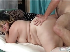 Plumper cunt is his favorite to fuck tubes