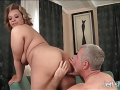 He loves fondling her saggy bbw tits tubes