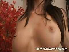Skinny amateur porn girl strips to suck his dick tubes