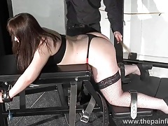 Whipped louise in amateur spanking to tears tubes