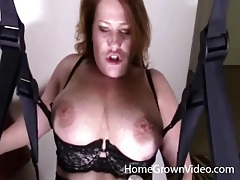Dildo machine hammers her hot amateur pussy tubes
