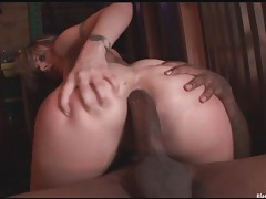 Velicity von craves black dick in her ass tubes