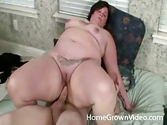 Shared fatty with a tattooed tummy fucks two guys tubes