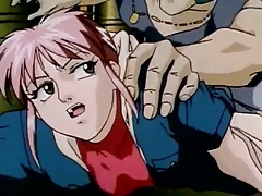 Redhead hentai girl roughly face fucked tubes