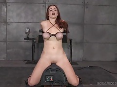 Guys take turns face fucking their slave girl tubes