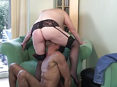 Black guy loves older chicks and fucks this mature hard tubes