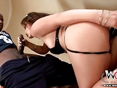 White slut kaci starr gives every hole to big black dick tubes