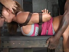Bound ava devine fucked hard from both ends tubes