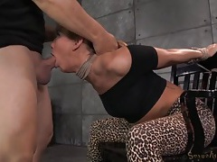 Carter cruise bound and mouth fucked roughly tubes