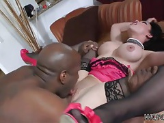 Super hot maya hills banged by a black dick tubes