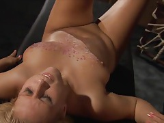 Master punishes his sub girl and she suffers for him tubes