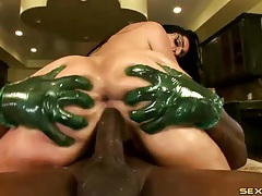 Black cock is all that this big ass babe wants tubes
